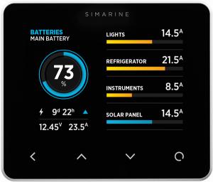 SIMARINE PICO Blue RV Battery Monitor