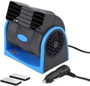 HITOPTY 12V Electric Car Dash Fan