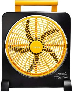 O2COOL Portable Rechargeable Fan