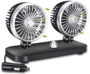 Yesurprise Electric 12V Car Fan