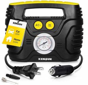 Kensun 12V Portable Air Compressor Pump