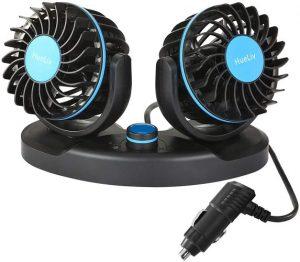 HueLiv Electric Car Cooling Fan