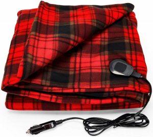 Camco Polar Fleece Heated Blanket