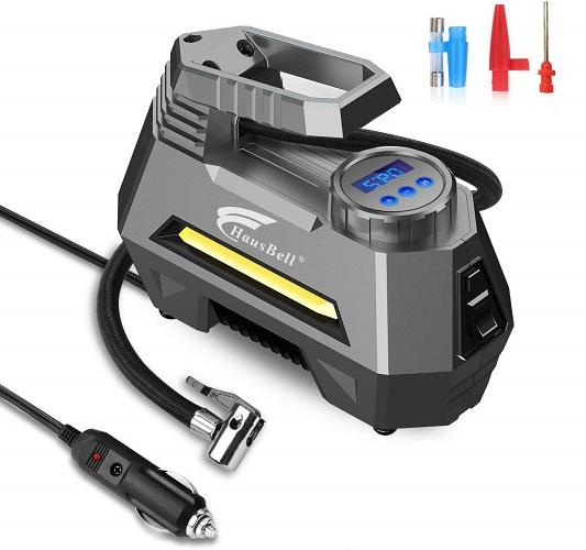 HausBell Portable 12V Air Compressor