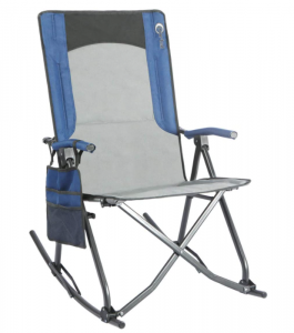 A great rocking chair that will support 300 pounds of weight with a smooth rocking motion.