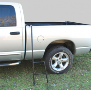 The most versatile RV bunk ladder in our article. You can use it for bunk beds as well as a sidestep for your pick-up truck.